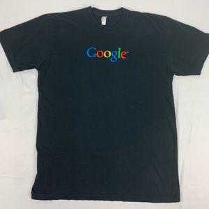 Google Men's Black T Shirt. Size XL.